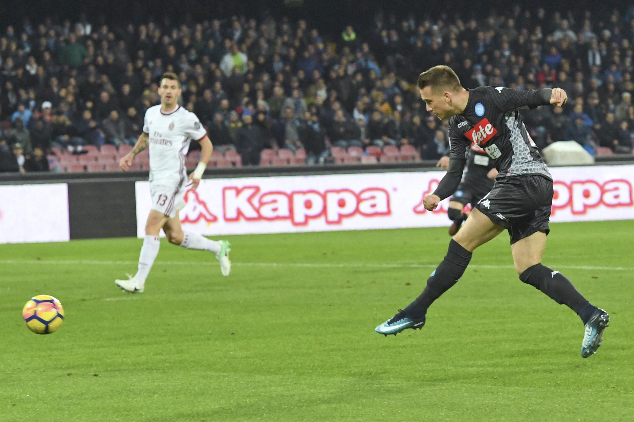 Serie A: Napoli-Milan 2-1