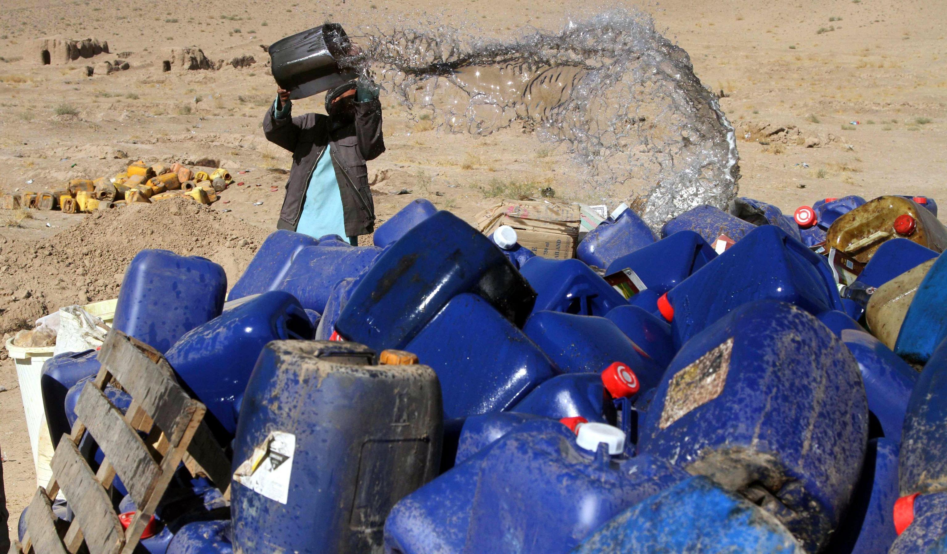 Boom produzione oppio in Afghanistan
