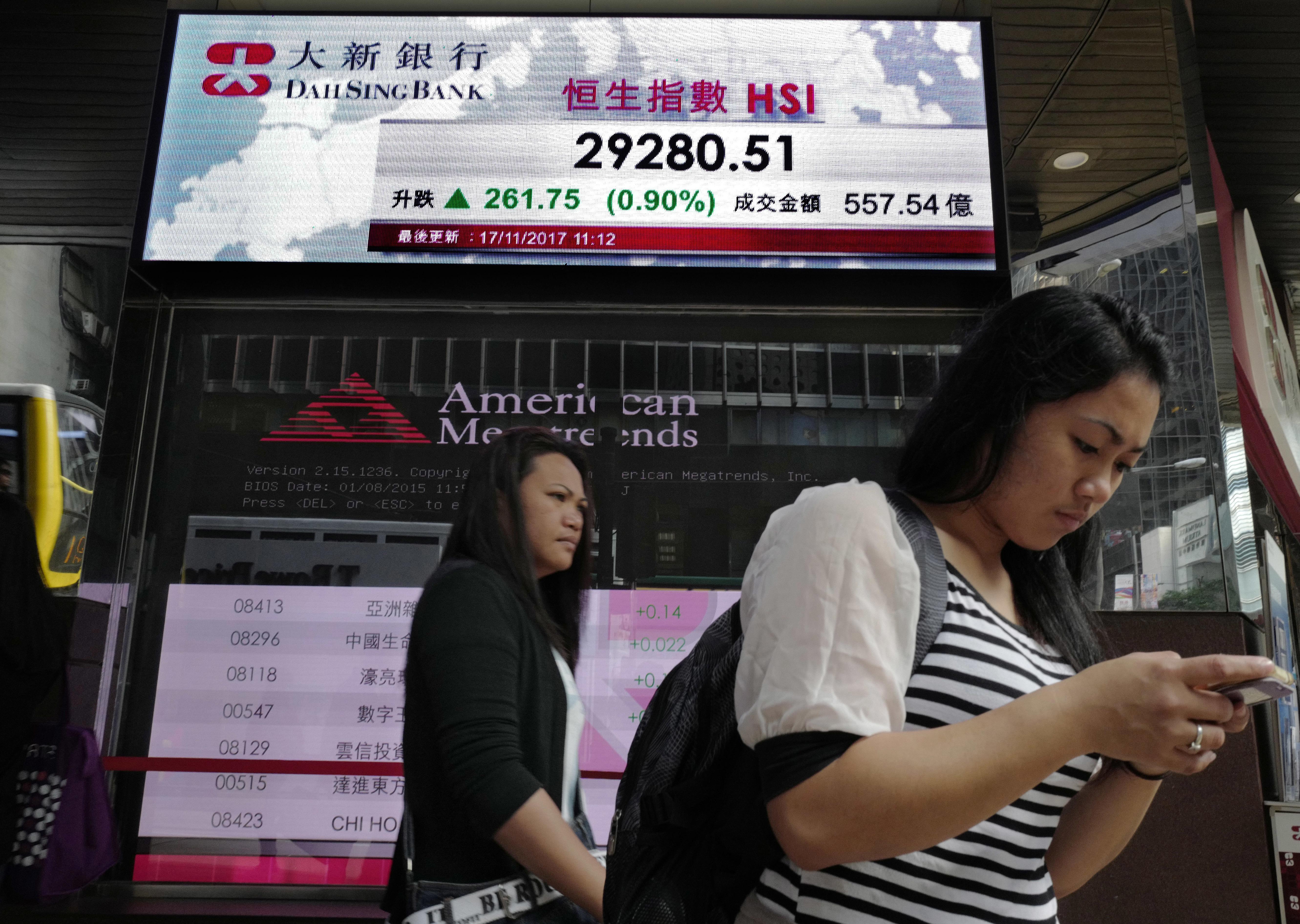 Borsa: Asia giù con tecnologici e Corea