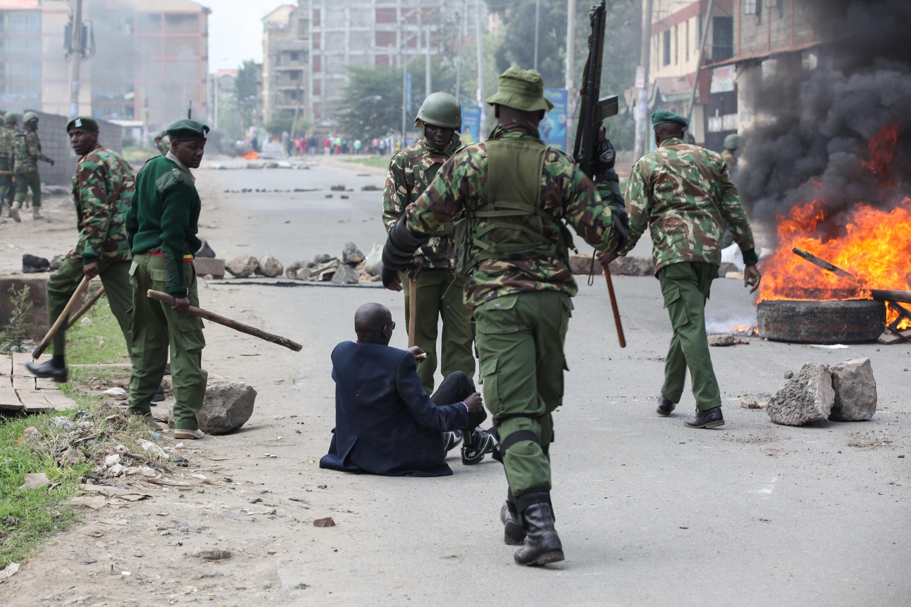 Kenya: bimbo ucciso da proiettile agenti