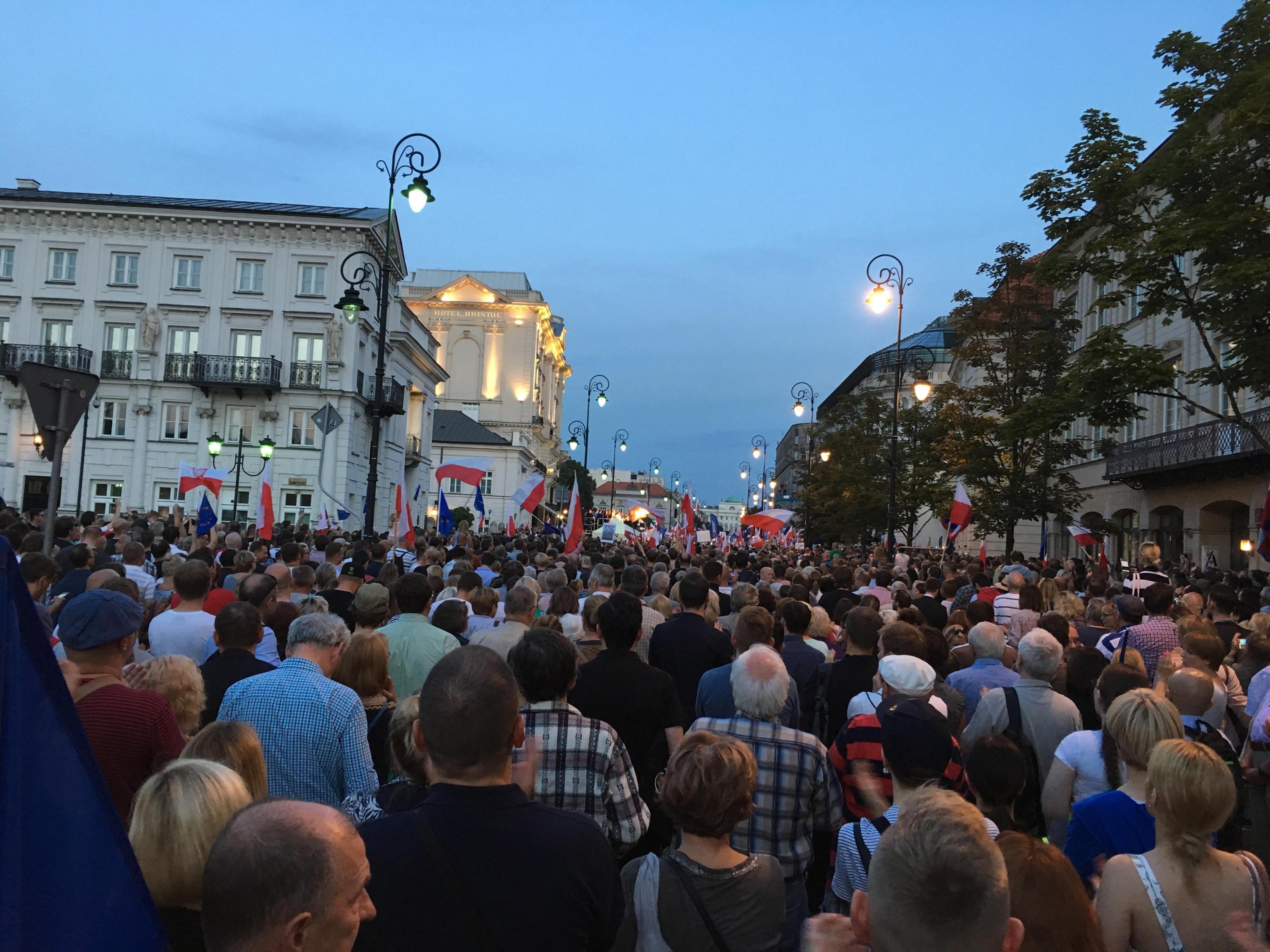 Pe,valori fondamentali Polonia a rischio