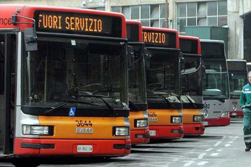 Venerdi a Roma 13esimo sciopero dei trasporti