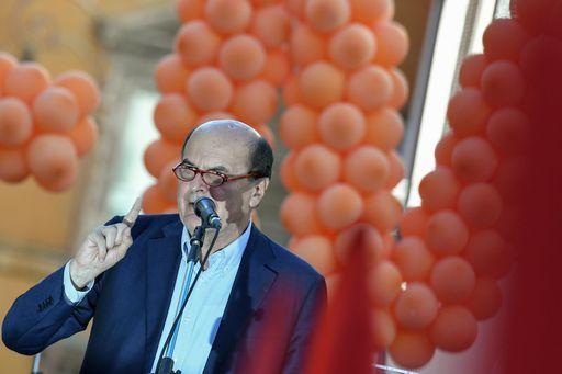 Bersani: uniti con il Pd di Renzi non si vince