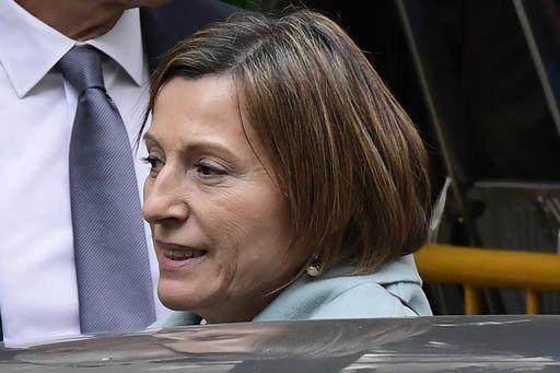 Porte del carcere aperte per la presidente del parlamento catalano