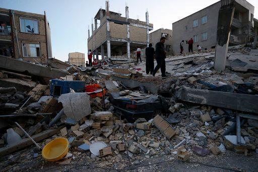 Terremoto di 7.3 in Iraq al confine con l'Iran