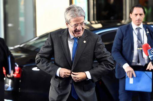 Gentiloni dice che l'Italia non è più fanalino coda in Ue