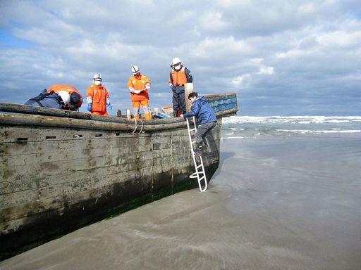 Sulle coste del Giappone arriva una barca con 10 cadaveri