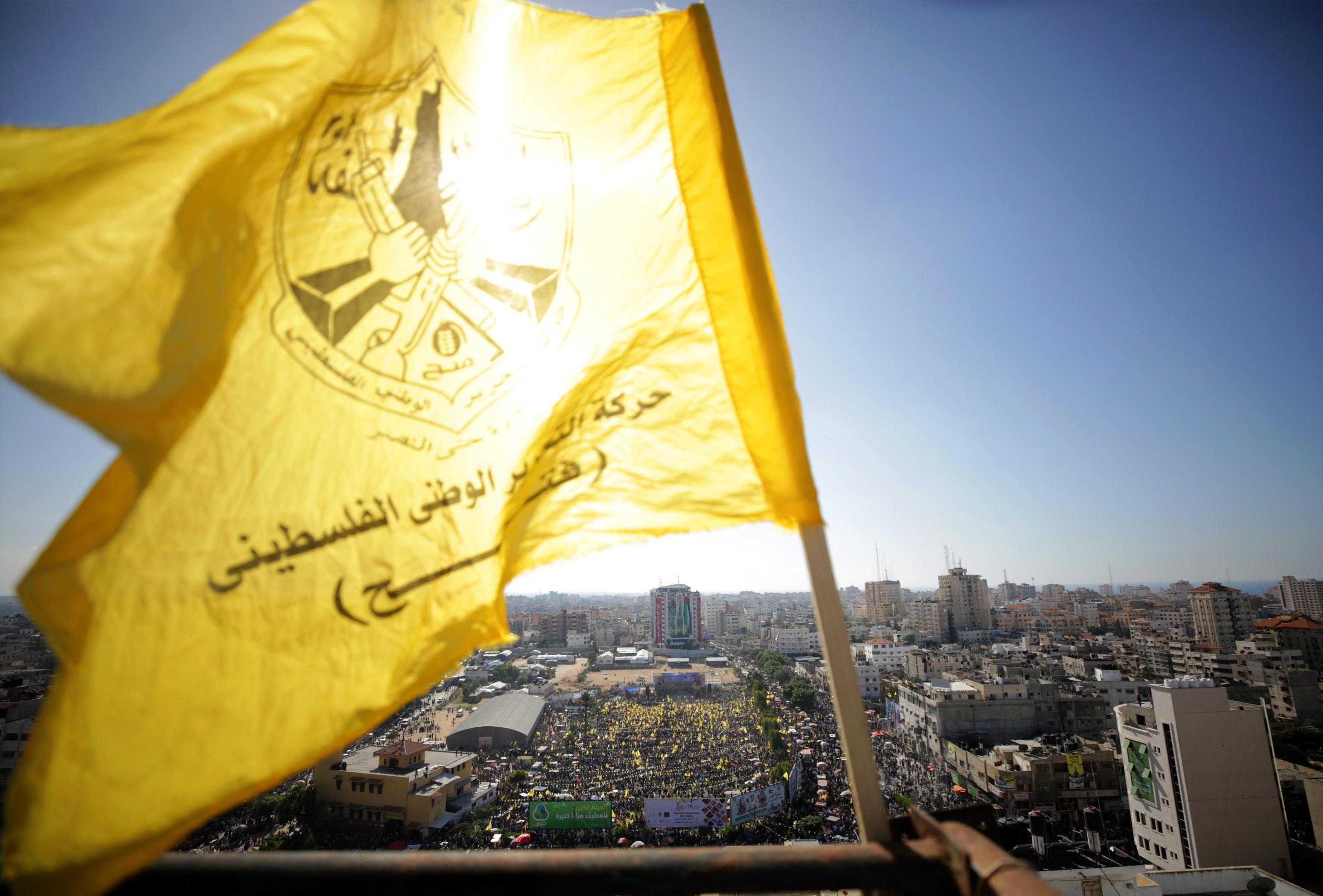 Gaza ricorda anniversario morte Arafat