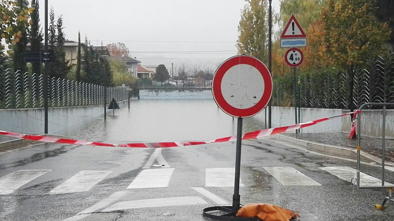 Maltempo,domani Abruzzo codice arancione