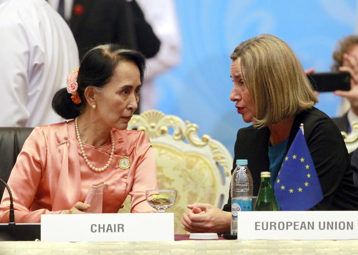 San Suu Kyi: 'L'immigrazione illegale diffonde il terrorismo'