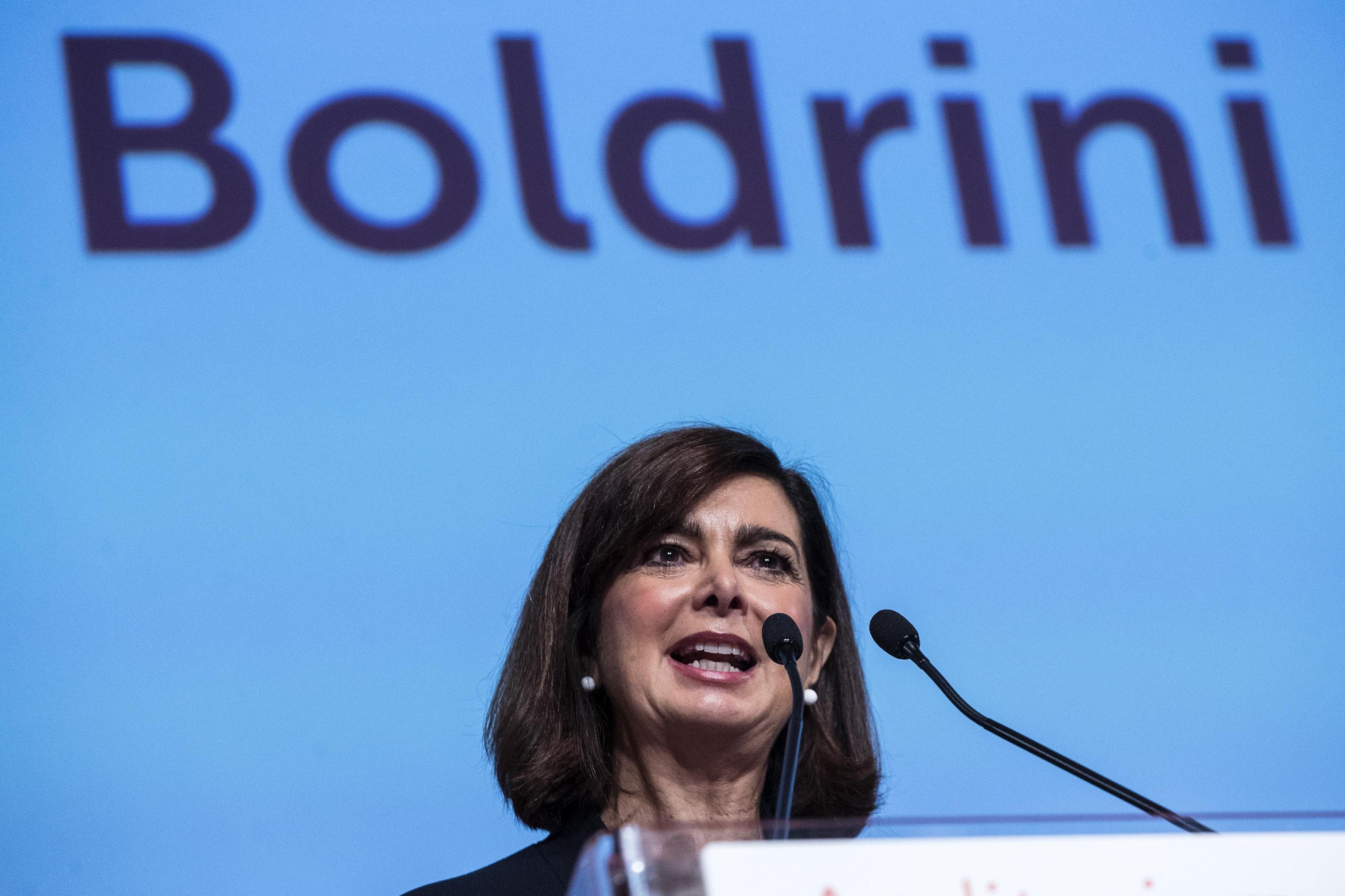 Boldrini, no condizioni alleanza con Pd