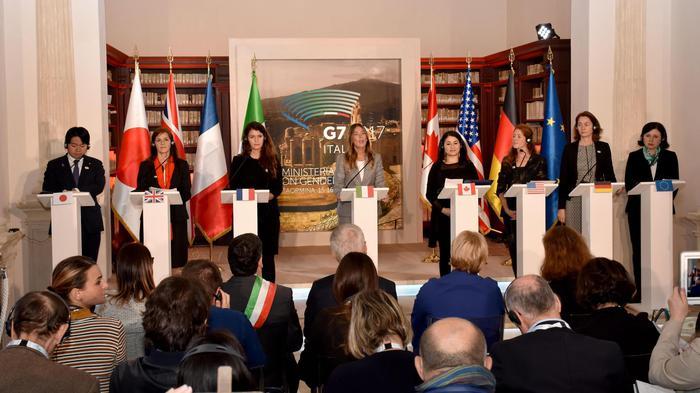 G7 Pari opportunità: 'Nessun paese ha parità de facto'
