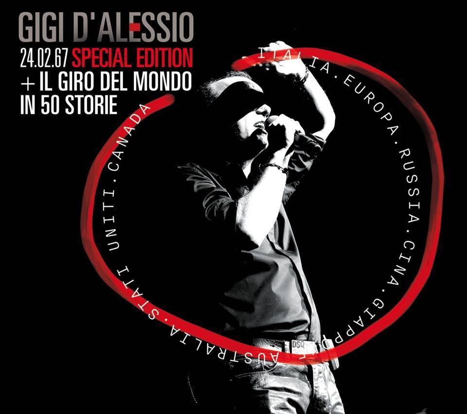 Gigi D'Alessio 24.02.67 special edition