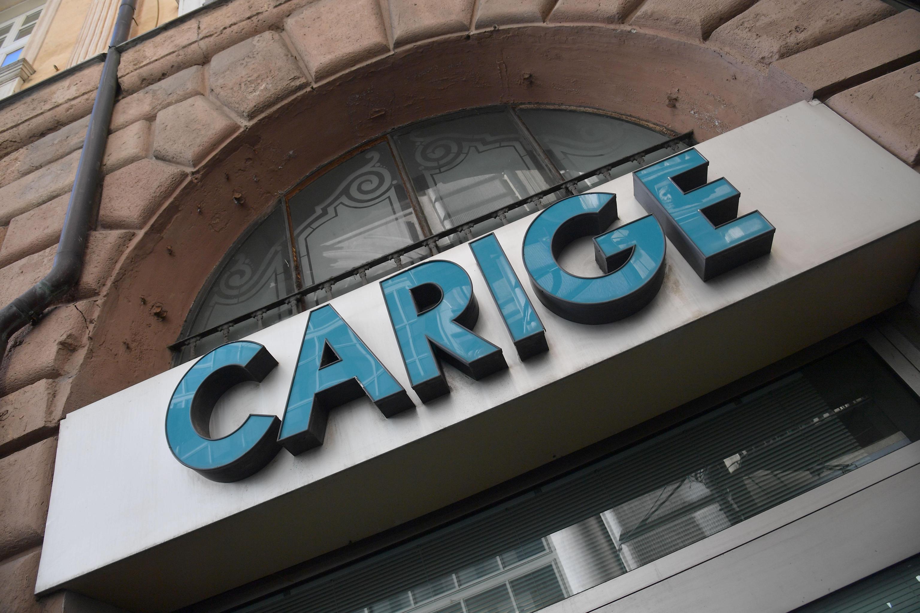 Banche giù in Borsa con Carige e Creval