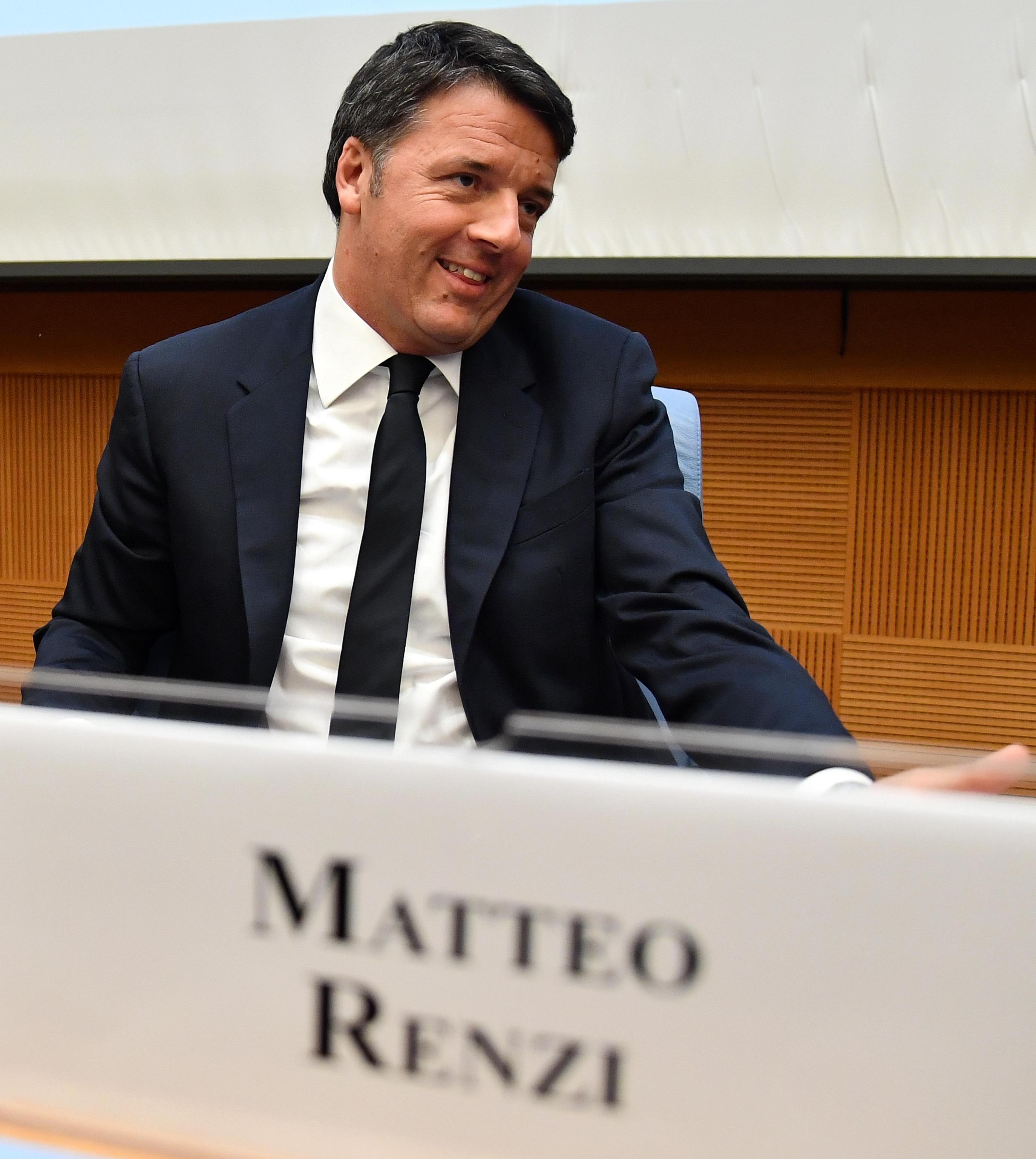 Renzi, vorrei scelta tra me e Berlusconi