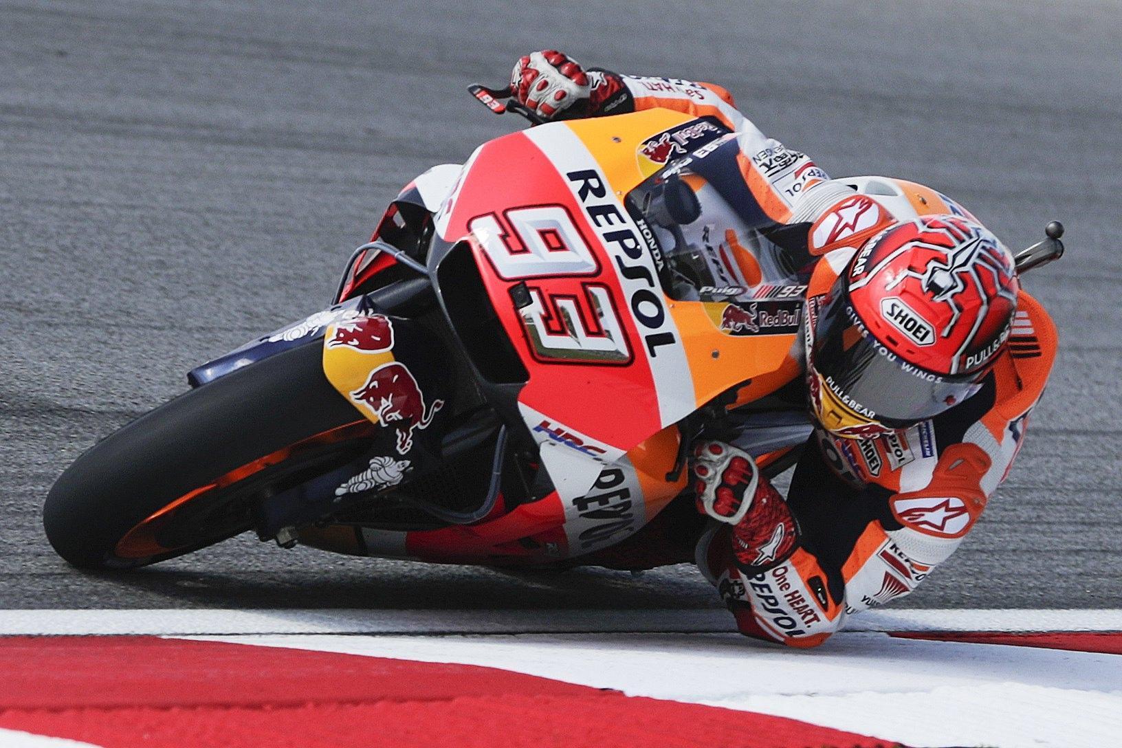 MotoGp: Marquez, ho sensazioni positive