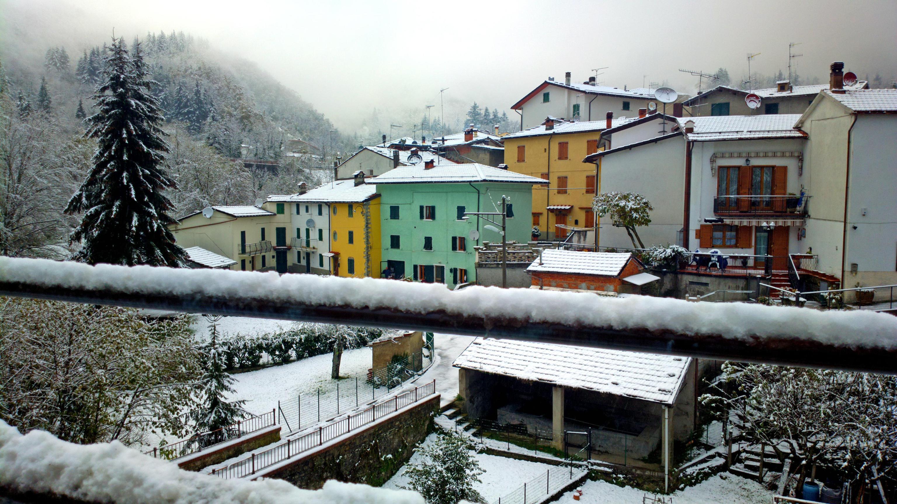 Prima neve all'Abetone