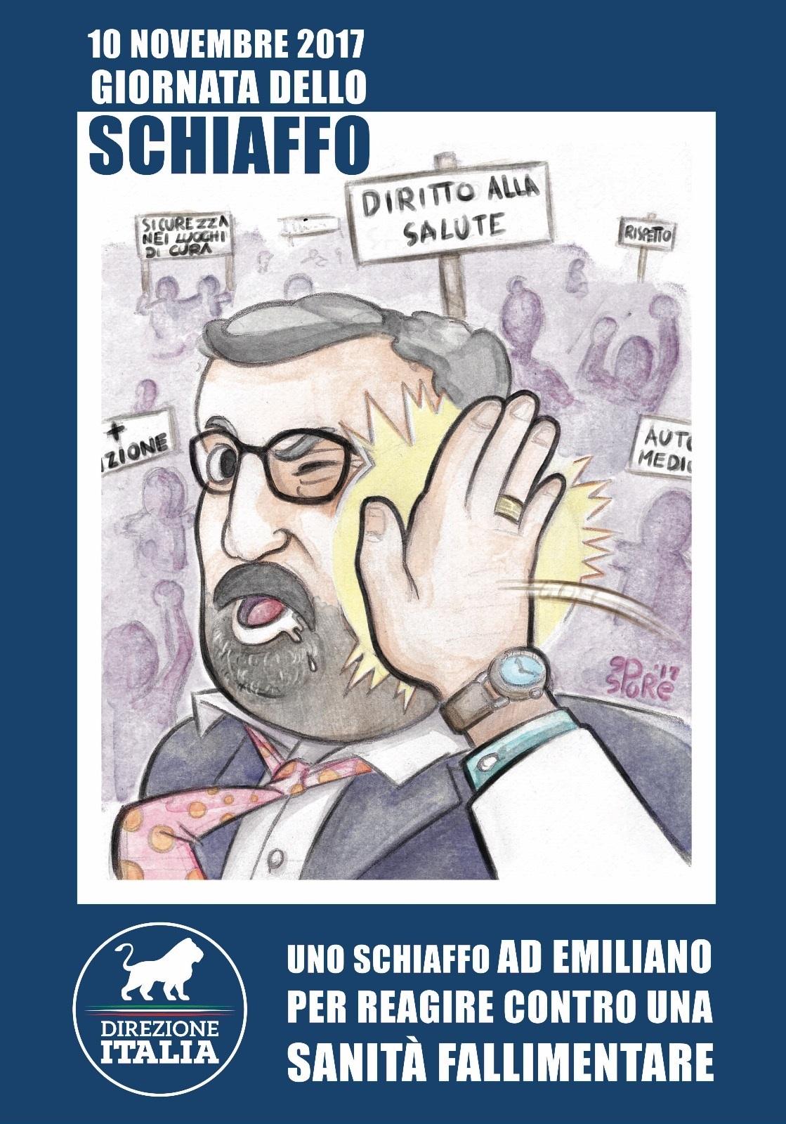 Giornata schiaffo anti Emiliano,proteste
