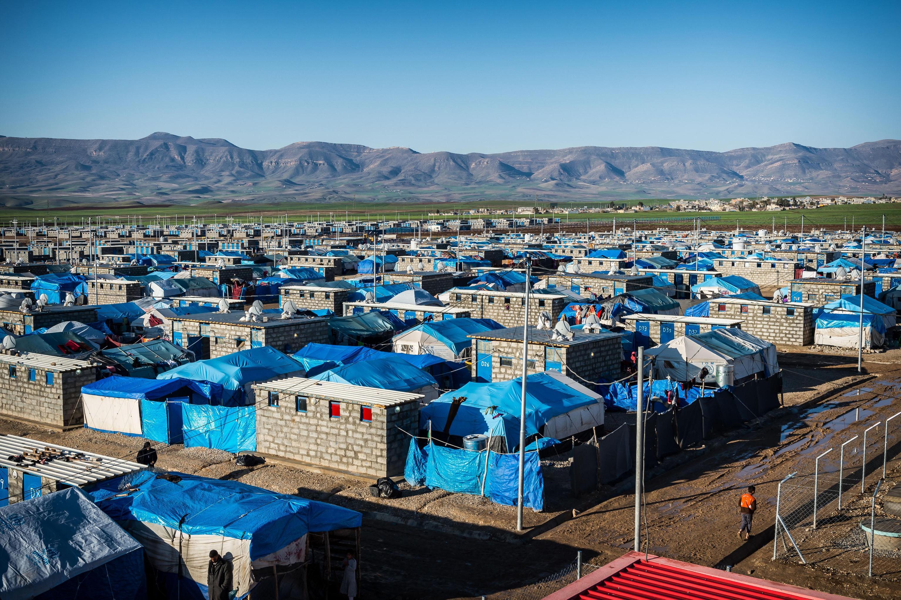 Sisma Iraq, danni a strutture Emergency