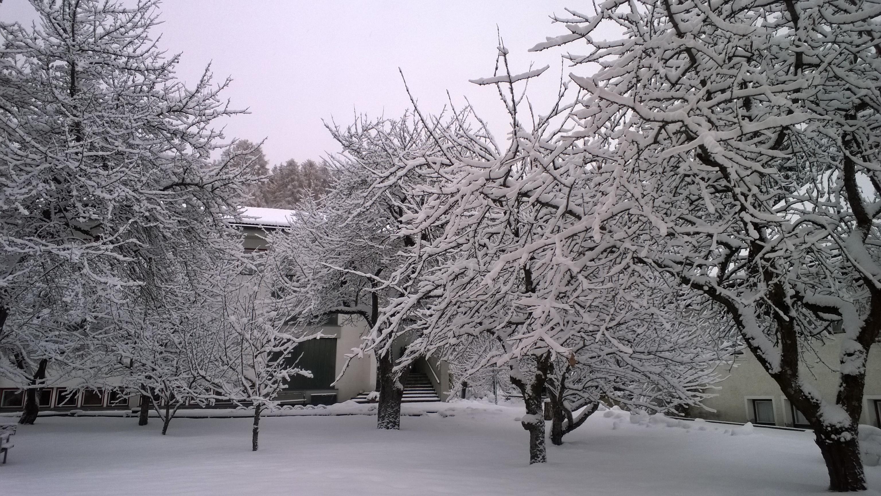 In Alto Adige già neve come a febbraio