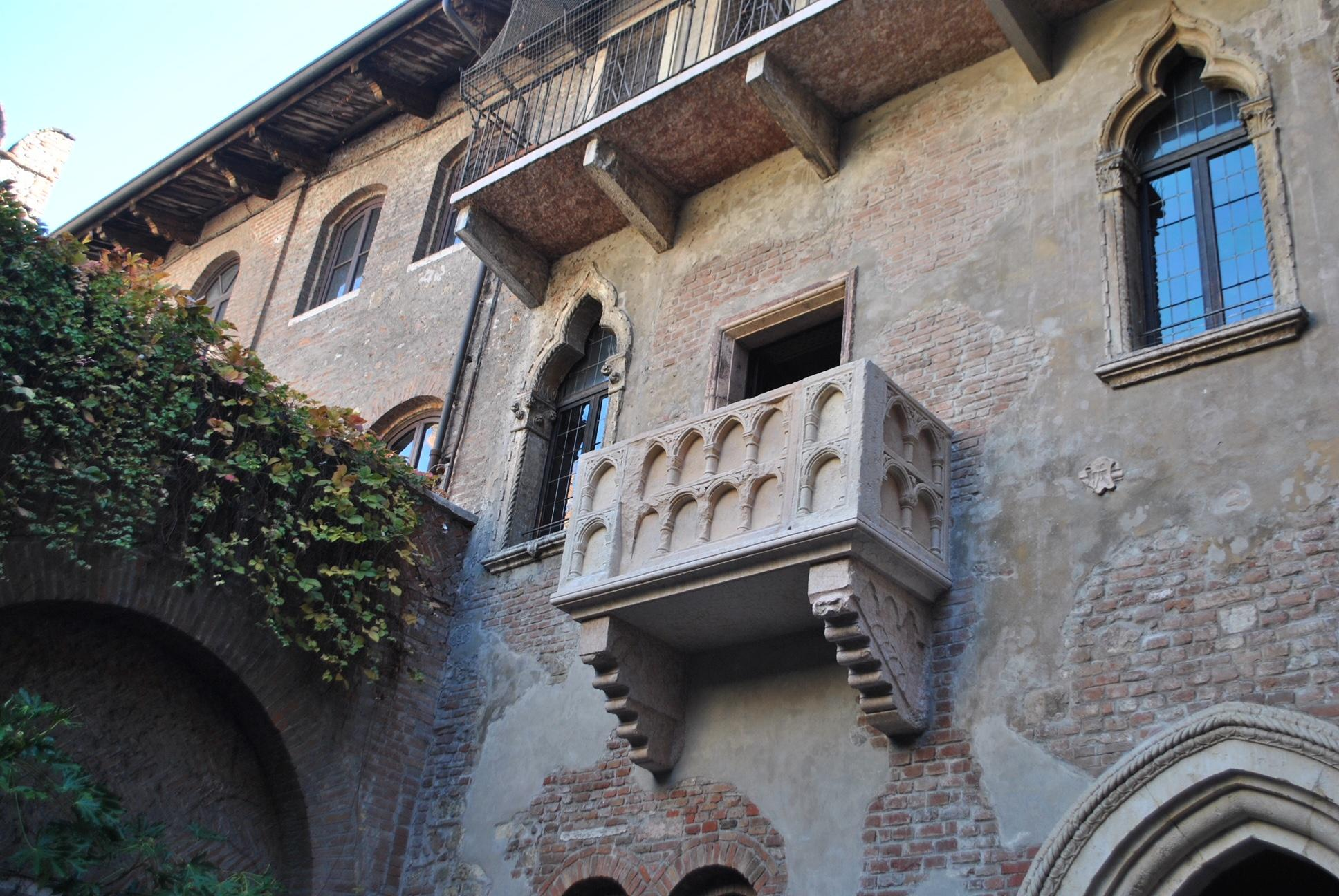 Riaperto a Verona Balcone di Giulietta