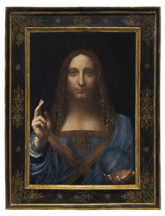 Asta record per 'Salvator Mundi' di Leonardo