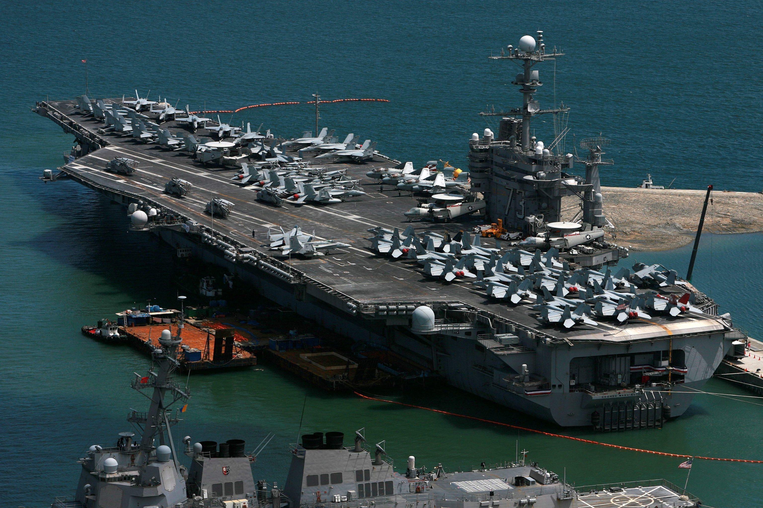 Corea Nord, portaerei Usa si esercitano