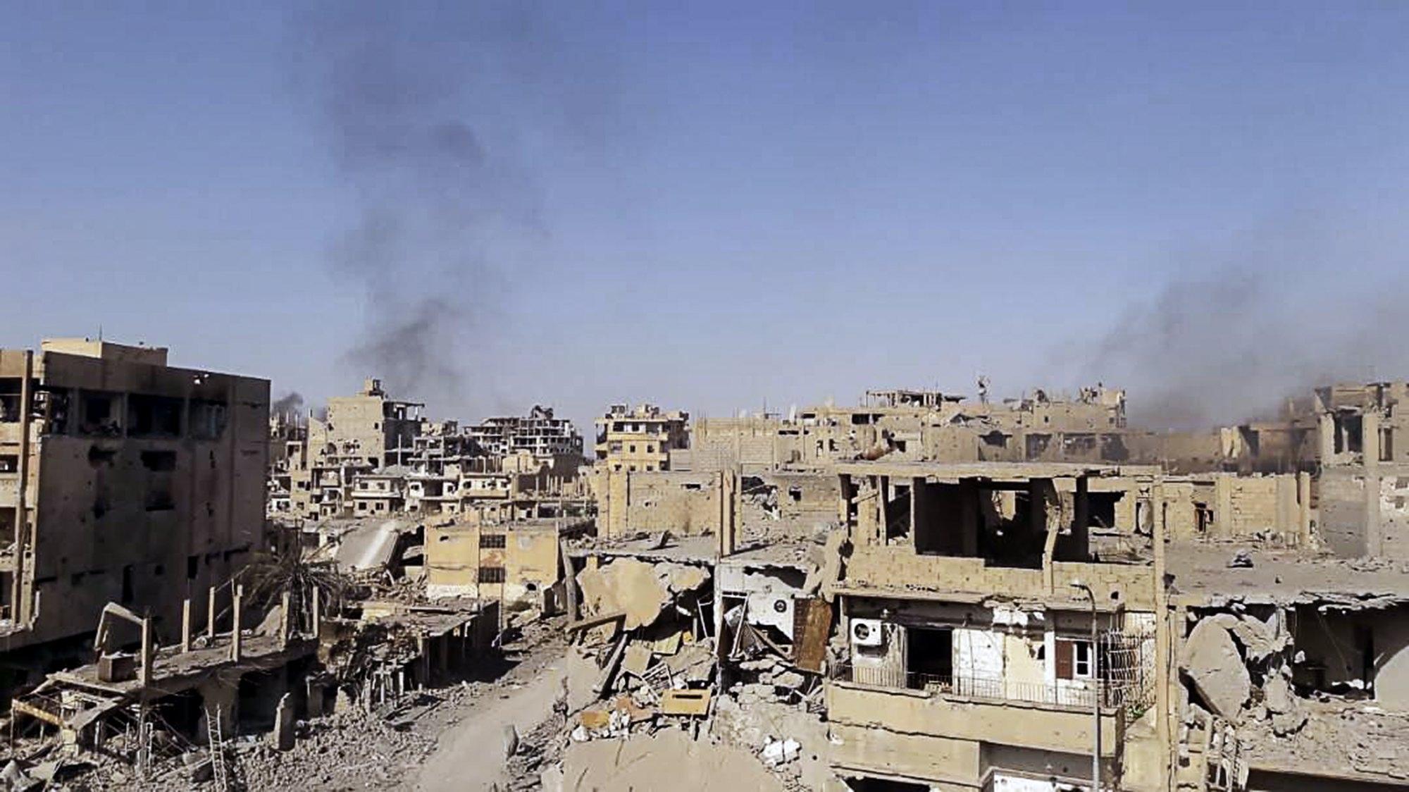 Siria: governativi conquistano Abukamal