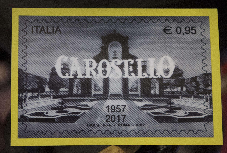 Carosello, un francobollo per i 60 anni