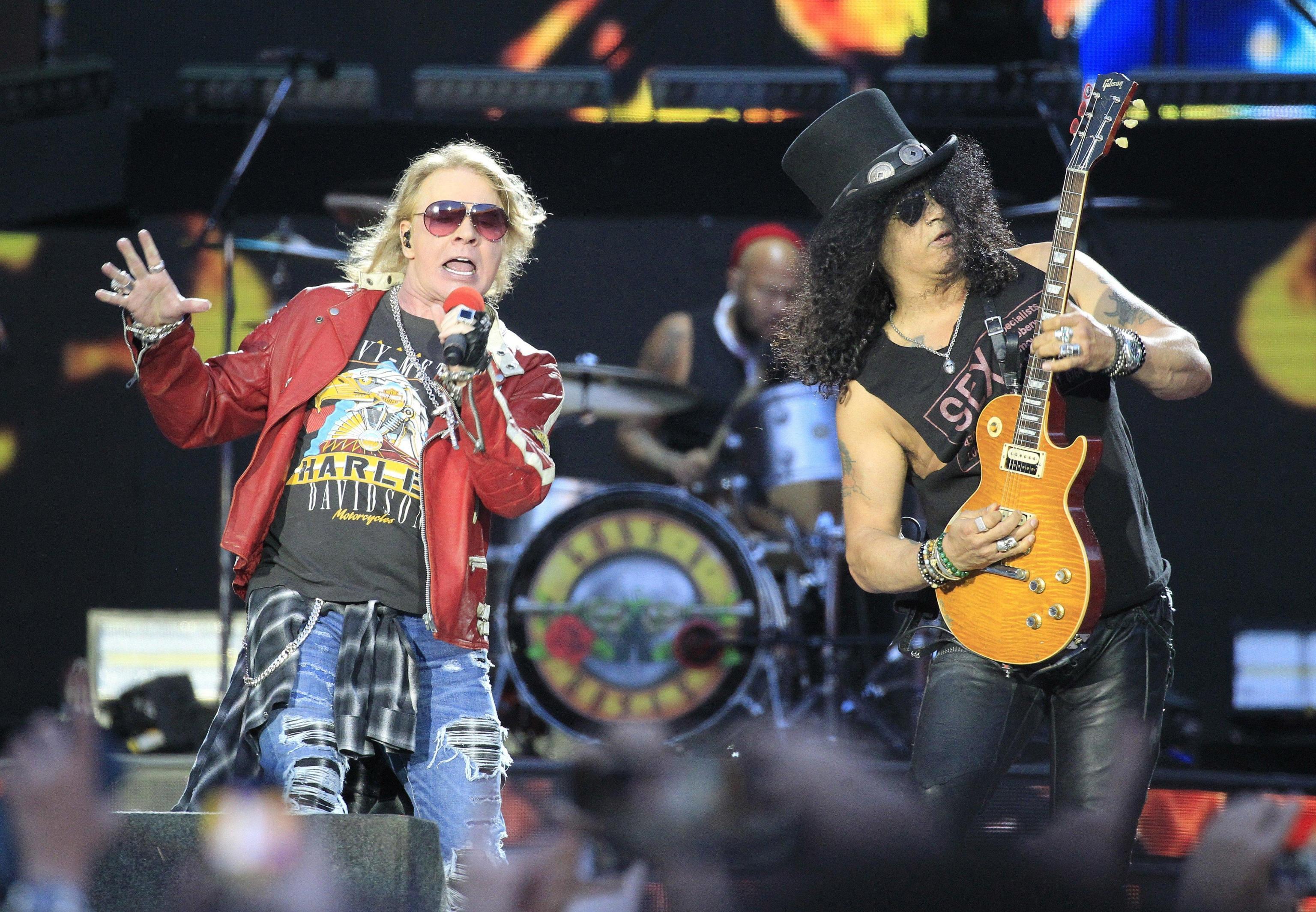 Guns'n'Roses a Firenze Rocks in giugno