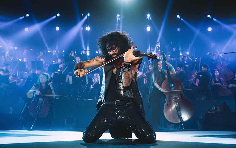 Ara Malikian e il suo violino in tournee
