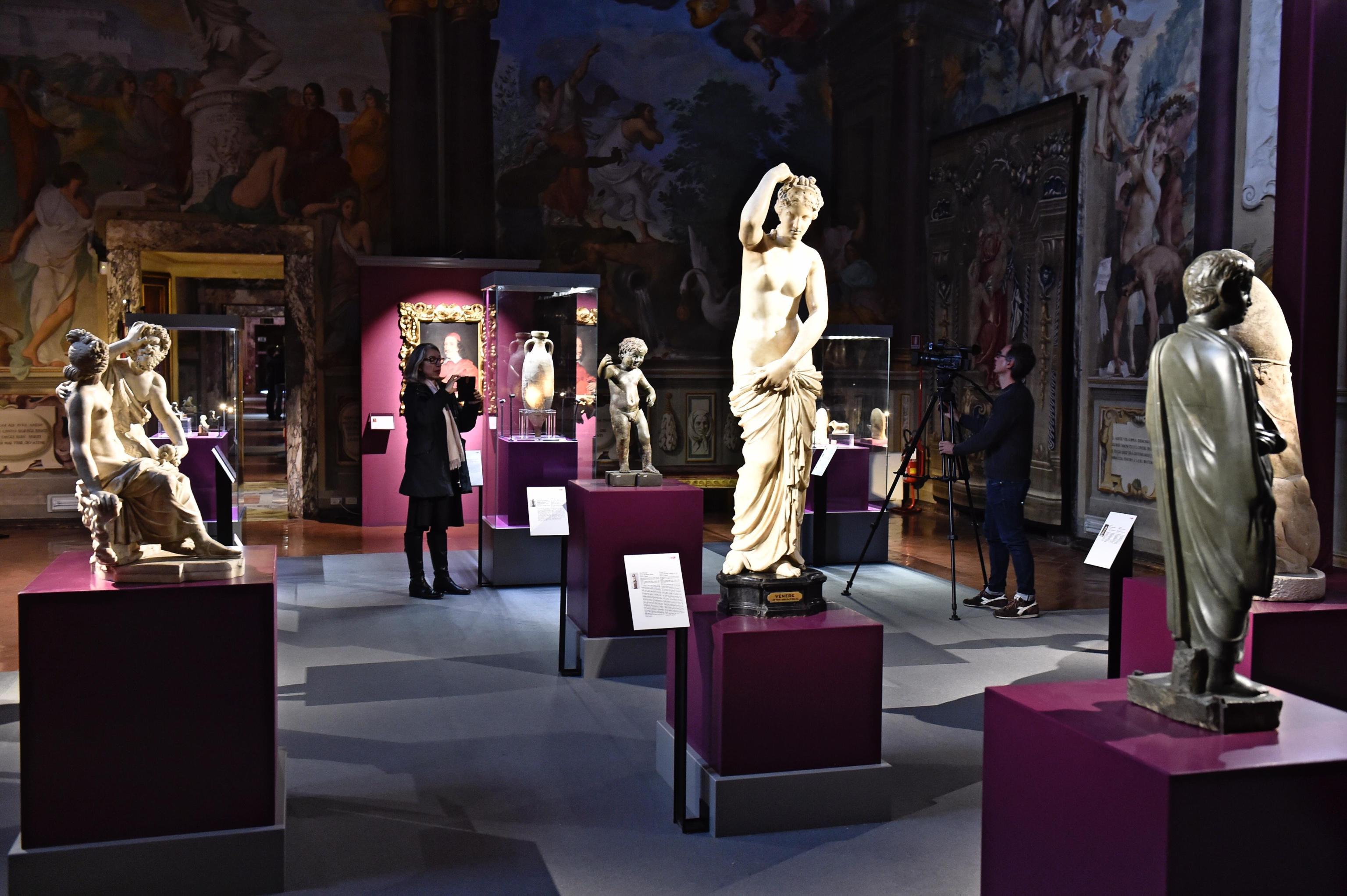 'Collezioni' Leopoldo de' Medici a Pitti