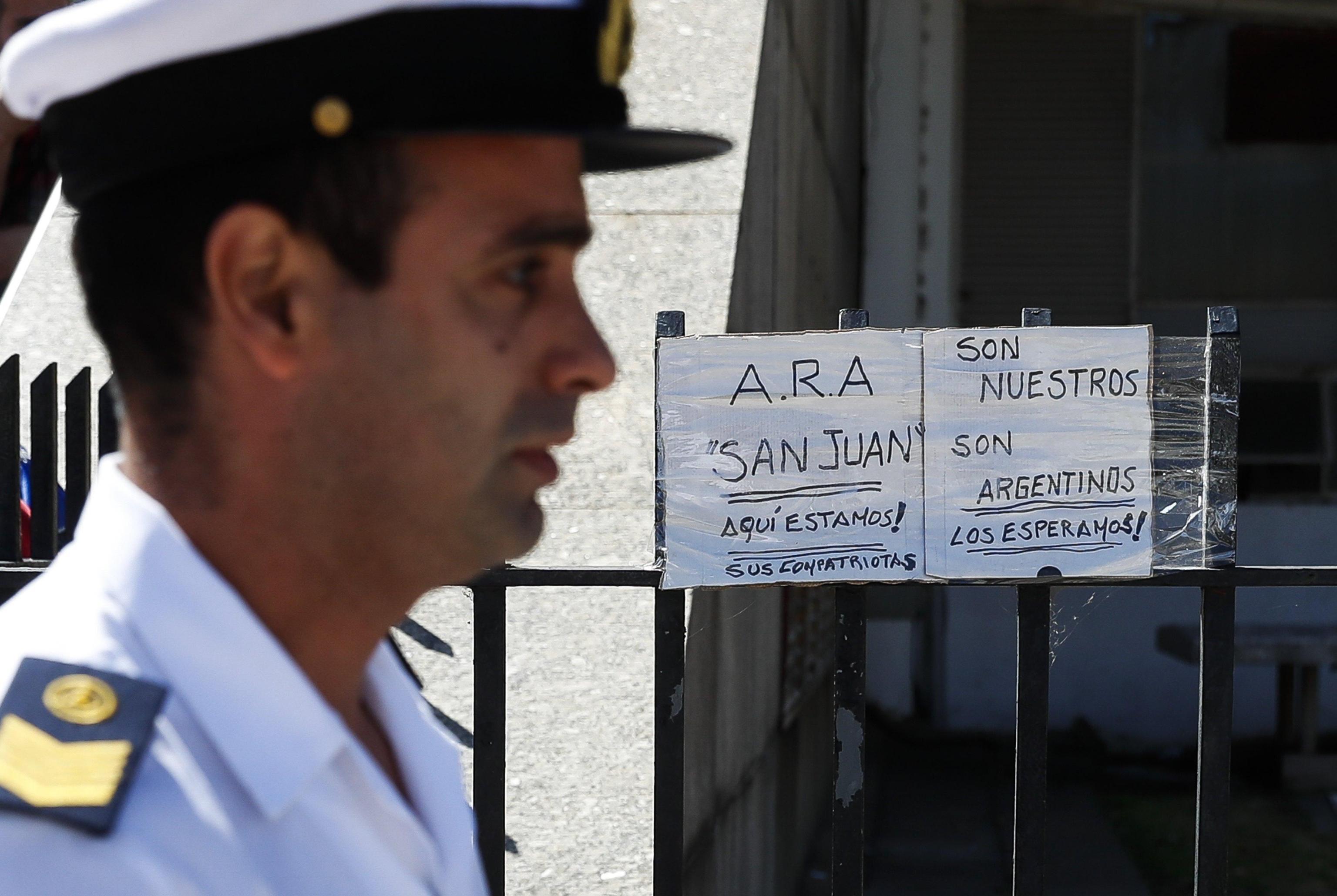 Argentina: nuovo suono da sottomarino