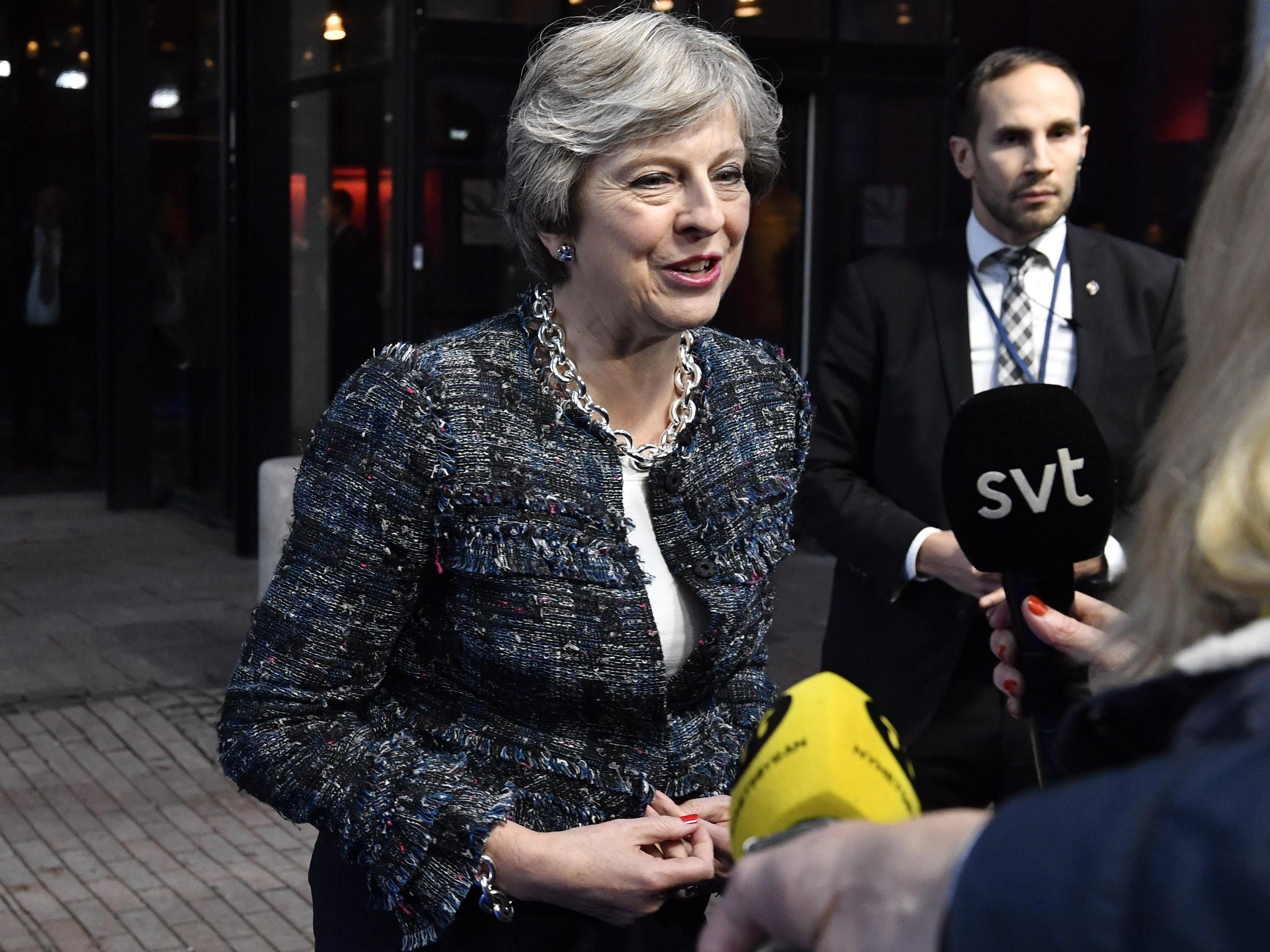Brexit: May, 'sono fiduciosa'