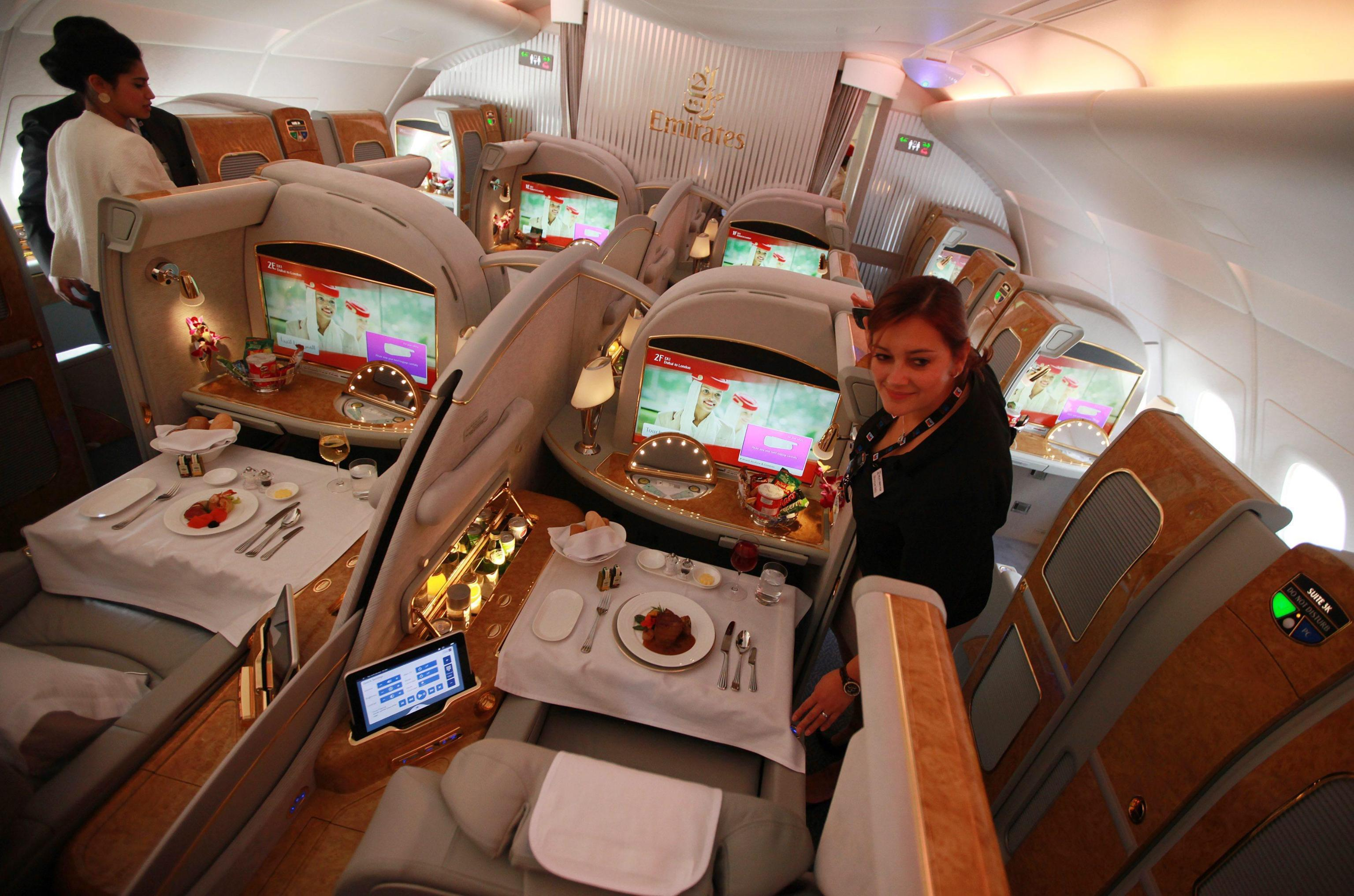 Emirates presenta le nuove suite lusso