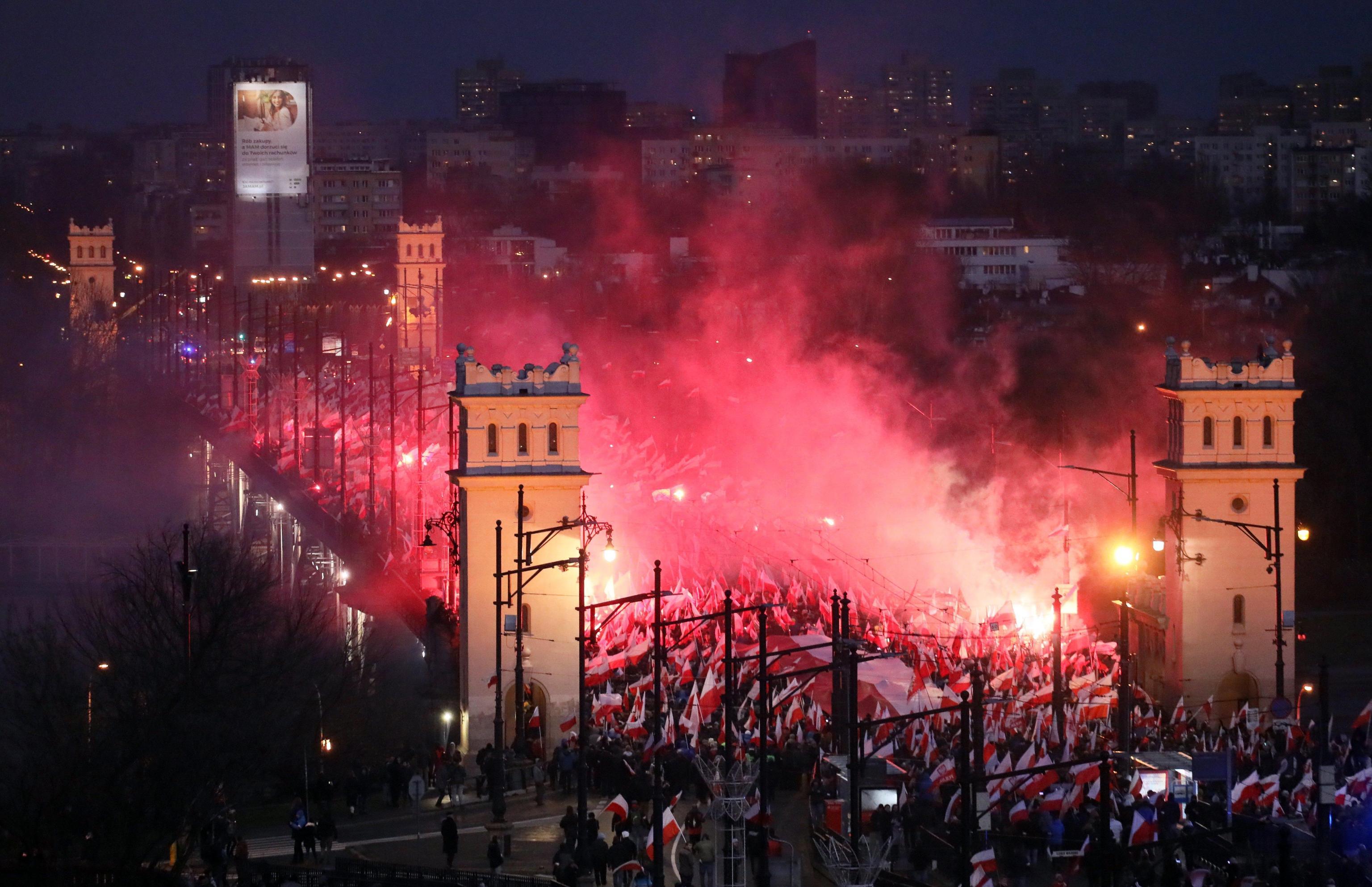 Polonia ricorda Giorno dell'Indipendenza