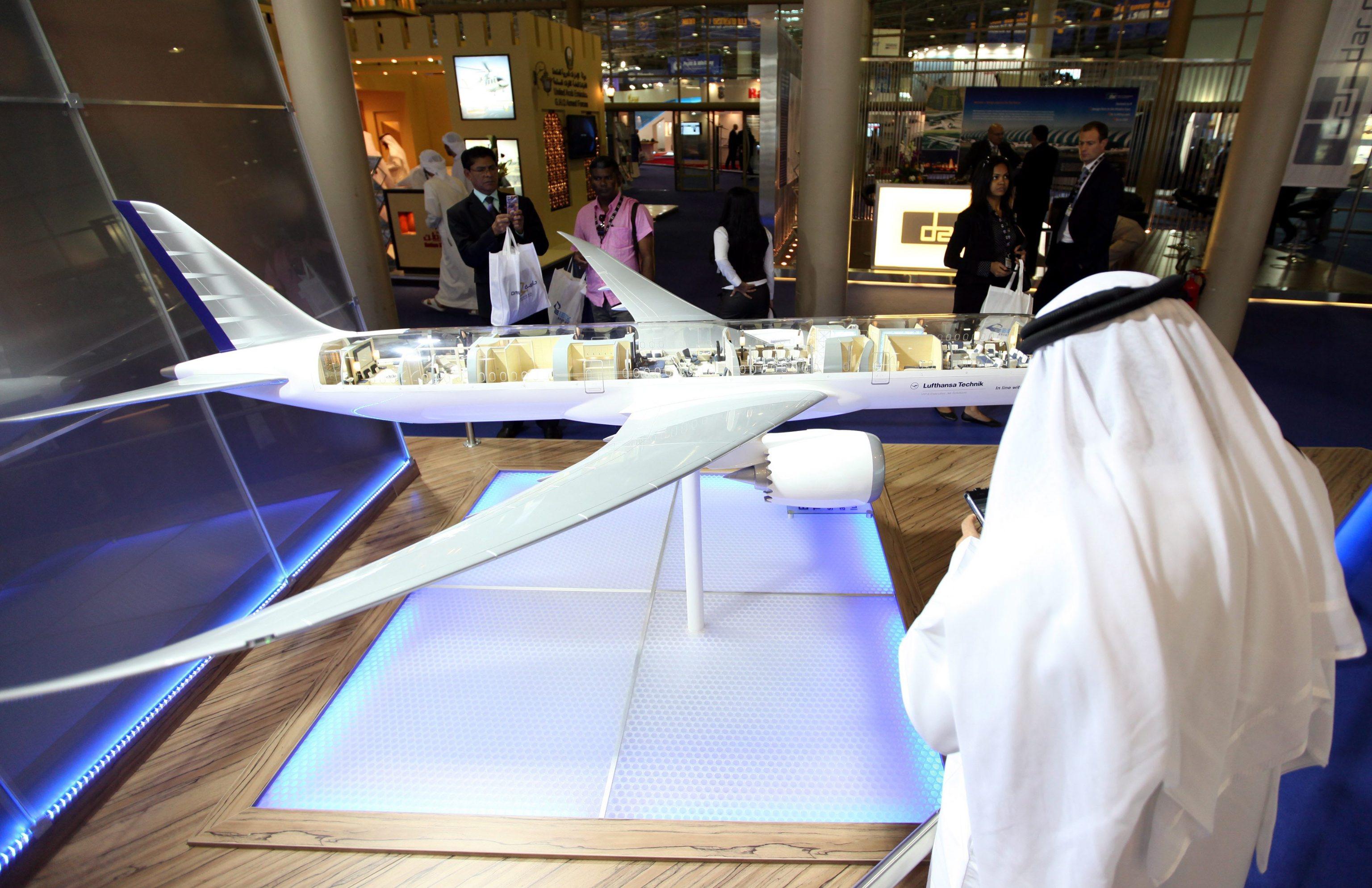 Salone aeronautico a Dubai senza Qatar