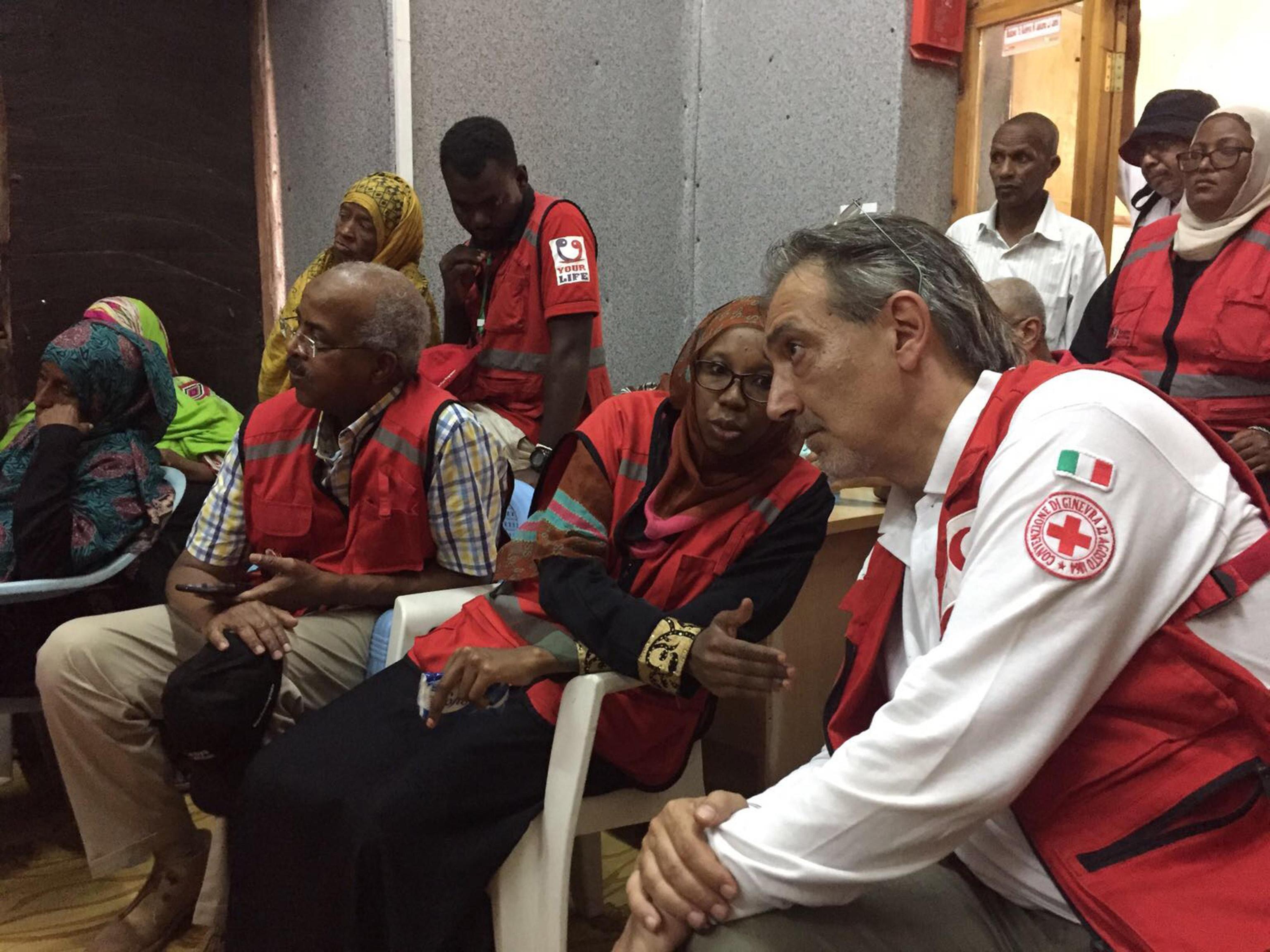 Rocca a capo Croce Rossa internazionale