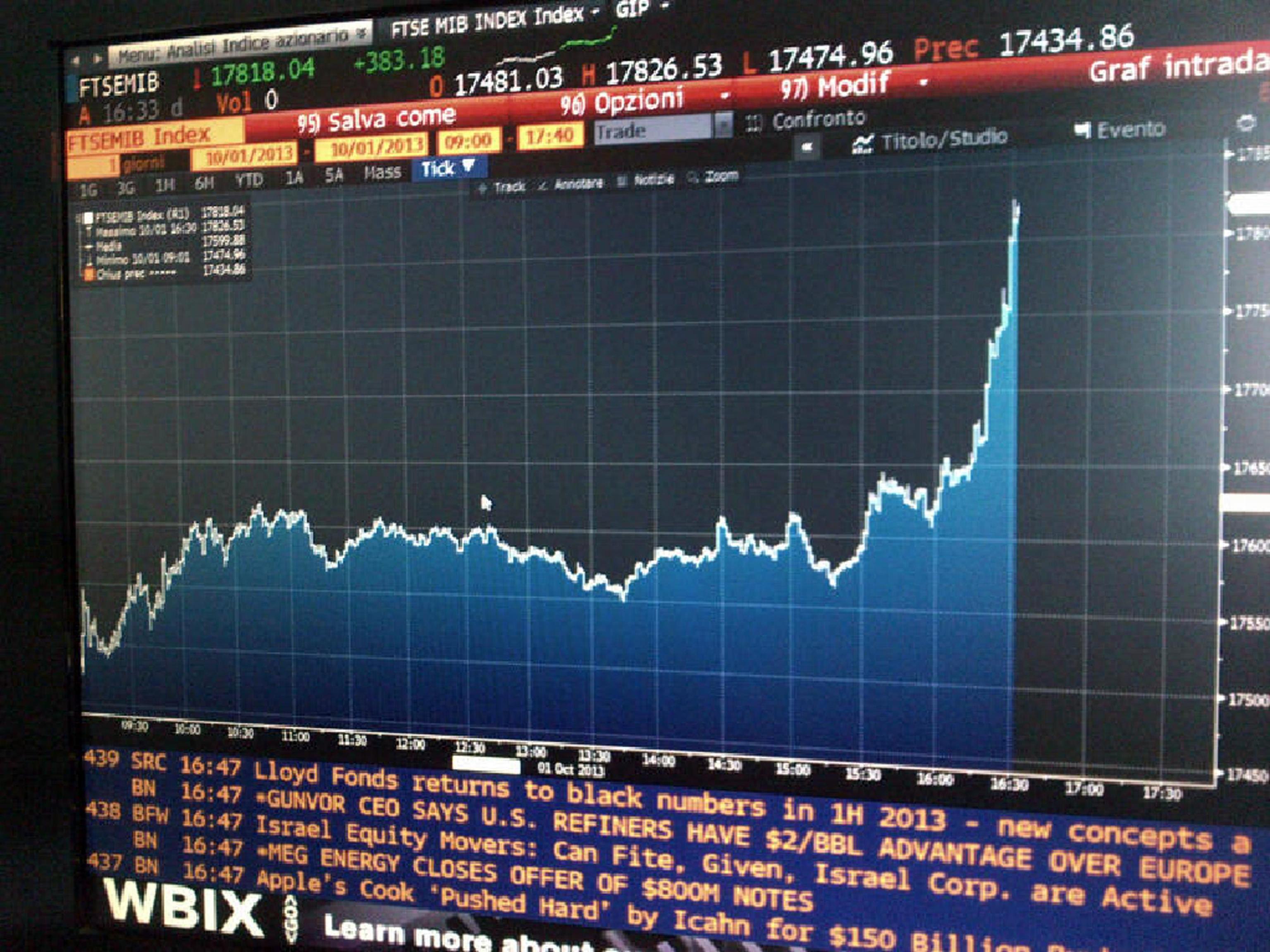 Borsa: Milano +0,5%, vendite su Carige