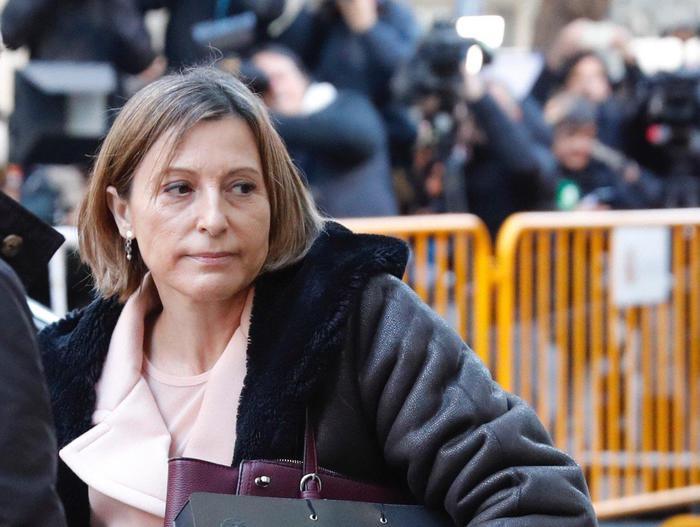 Catalogna, Forcadell paga la cauzione: ordine scarcerazione