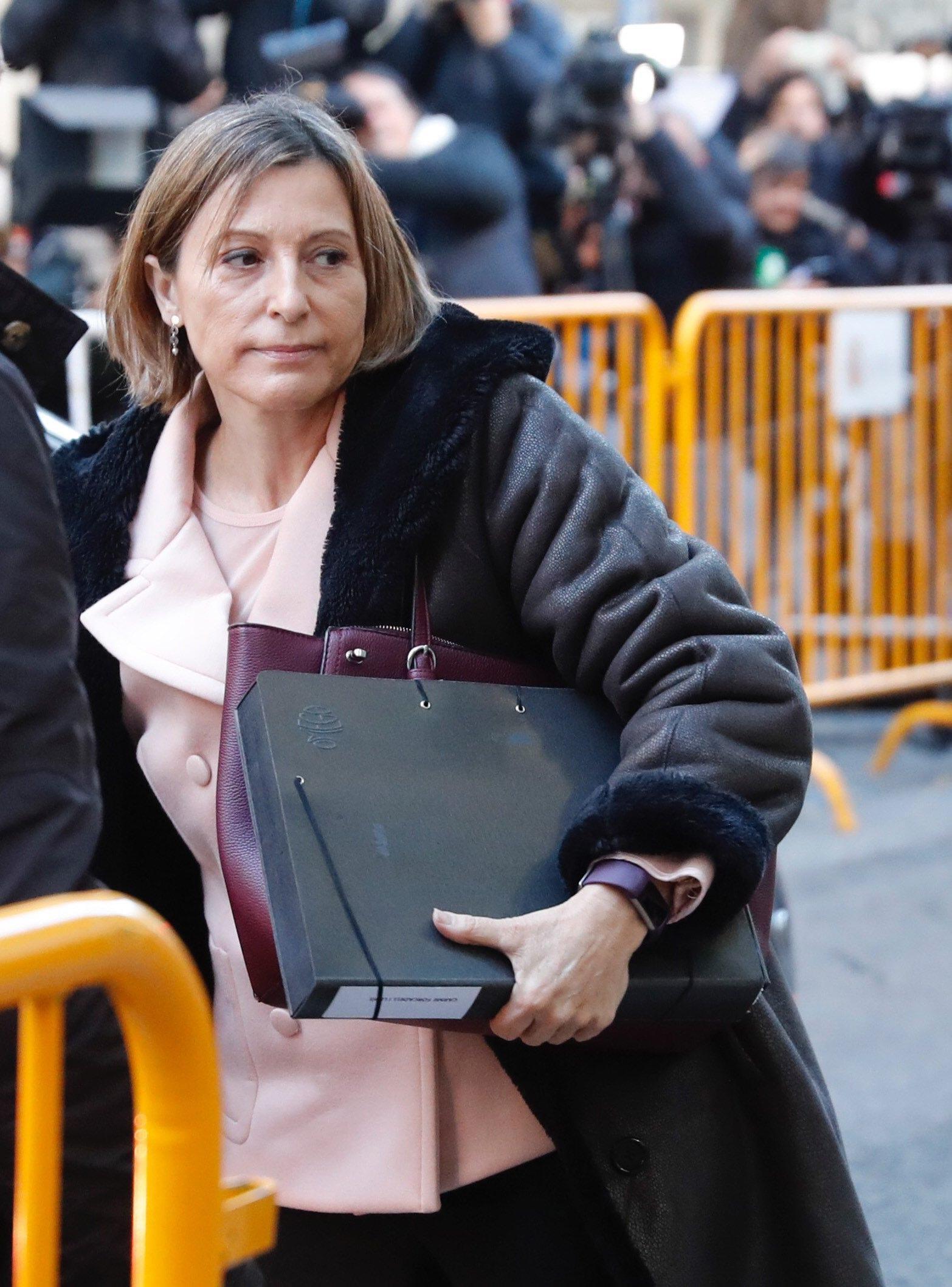 Procura Madrid, 'carcere per Forcadell'