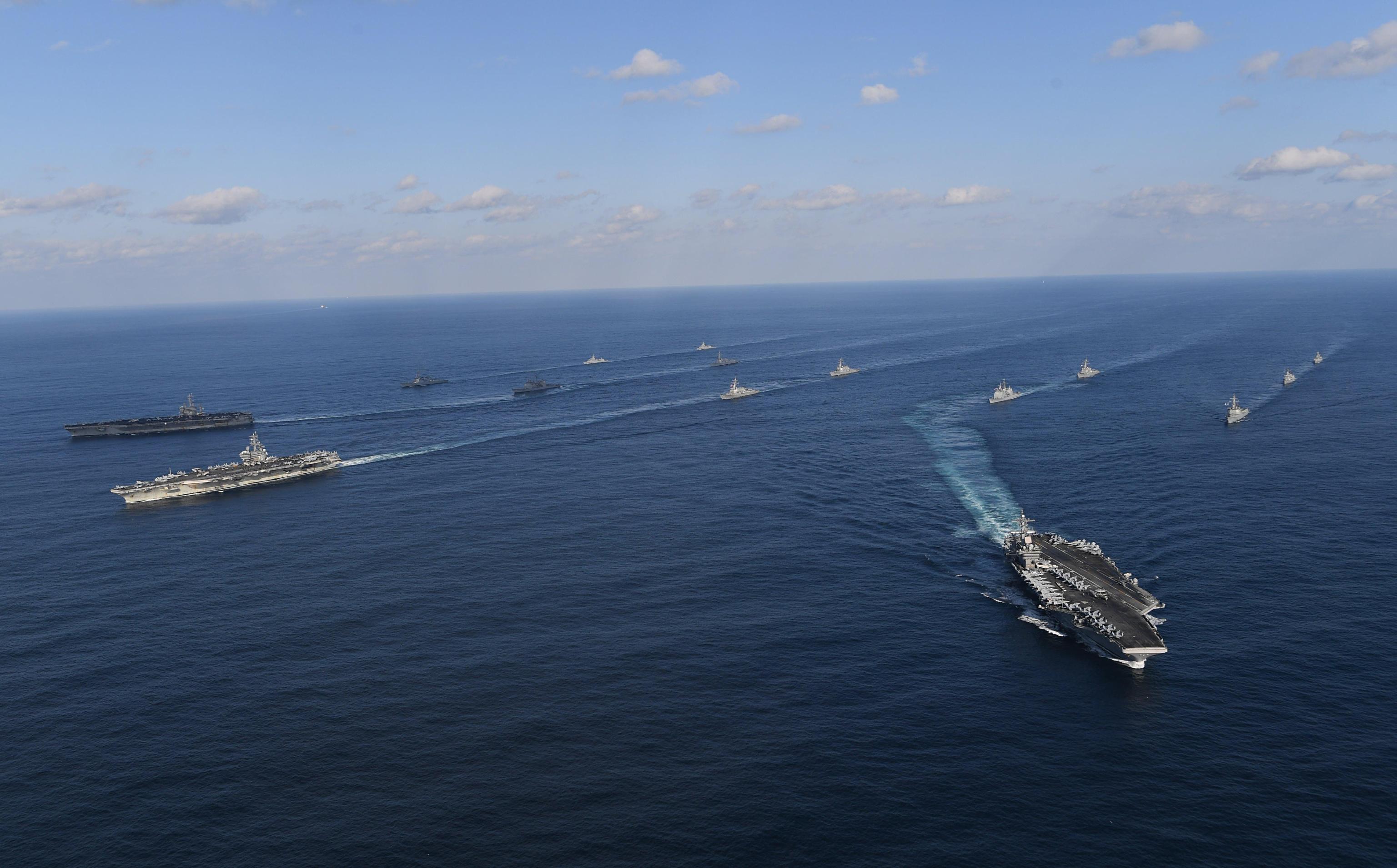 Aereo militare Usa precipita in Pacifico