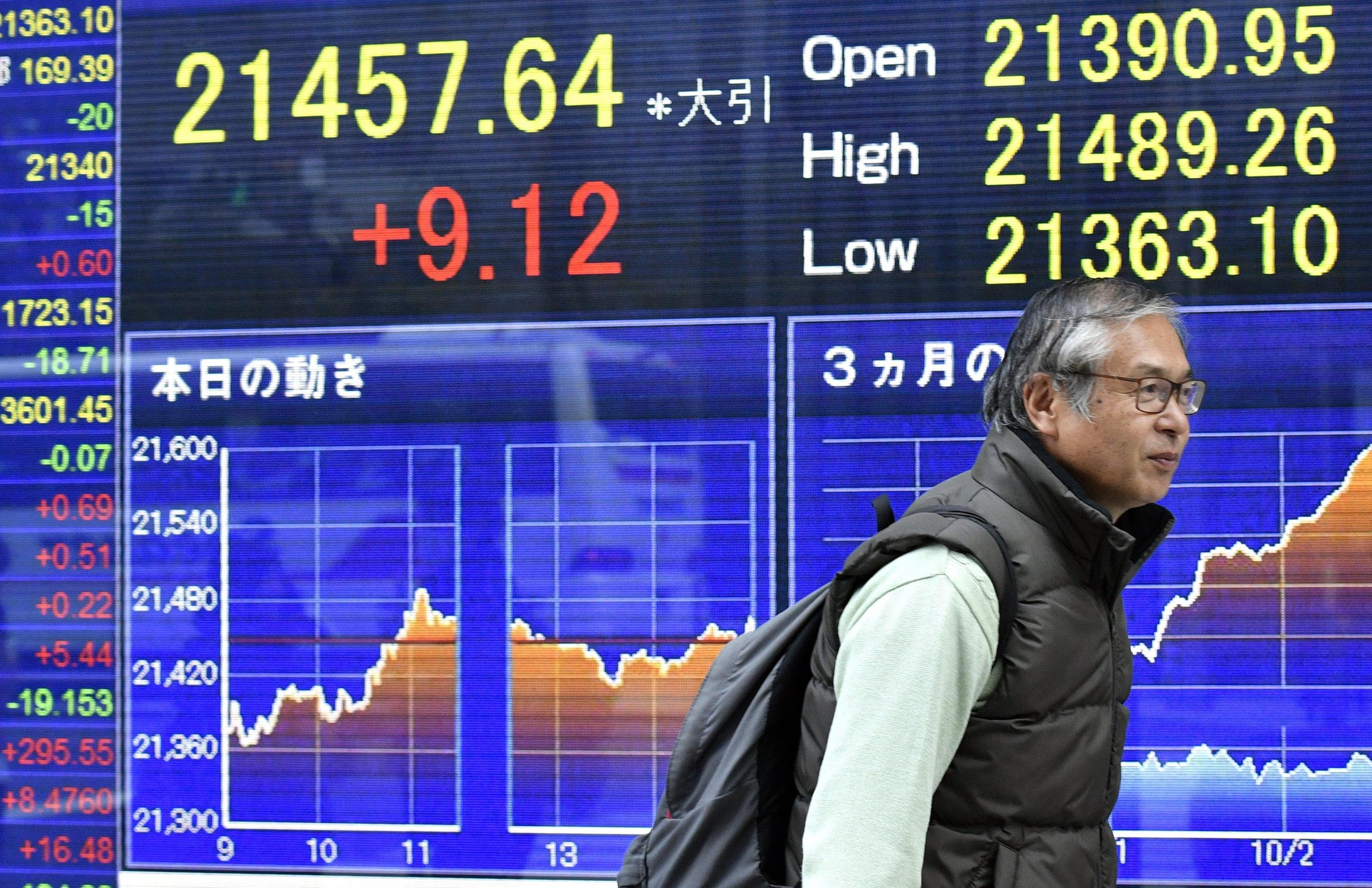 Borsa: Shanghai positiva,chiude a +0,28%