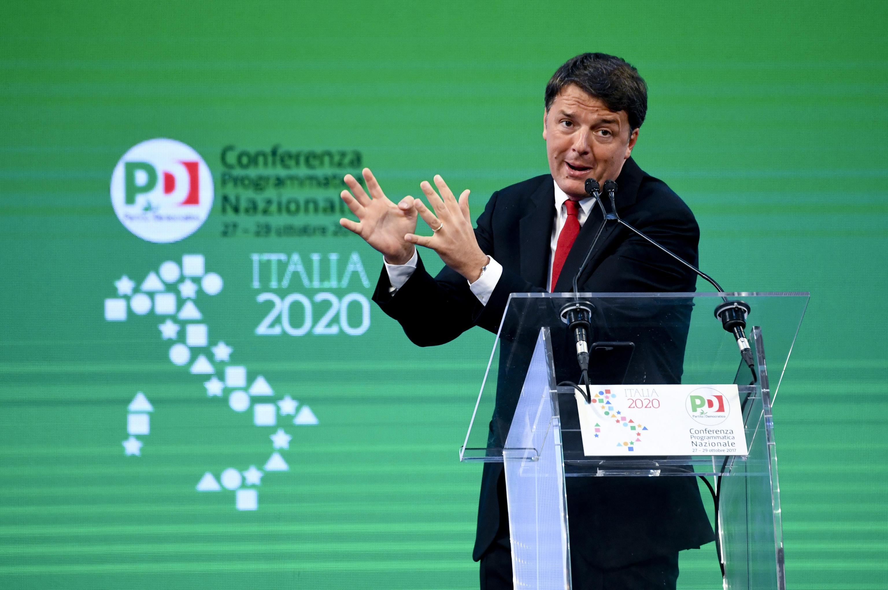Renzi, leader viene deciso da primarie