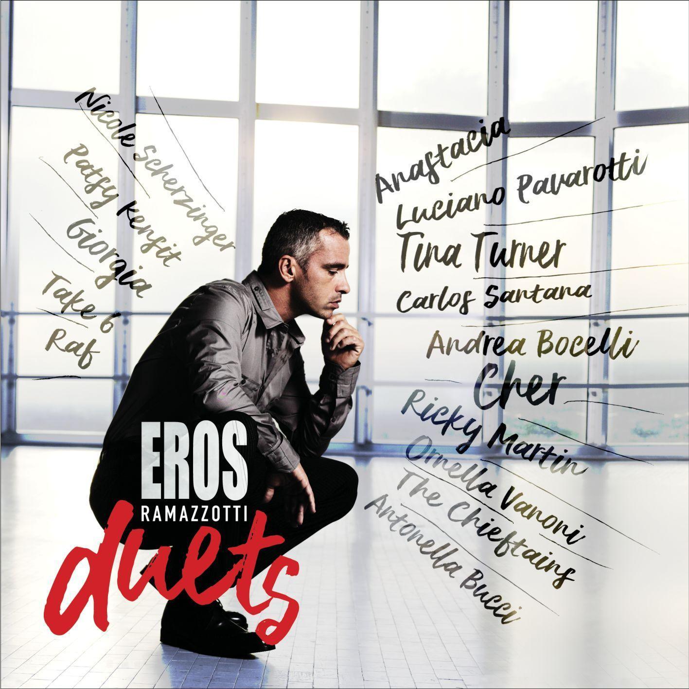 Esce Eros Duets, i duetti di Ramazzotti