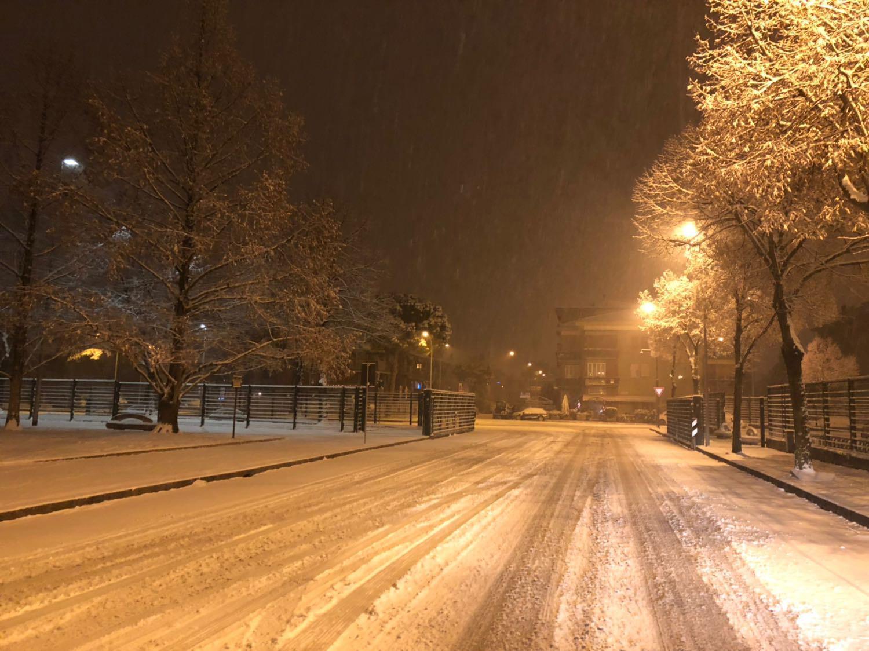 Maltempo: Veneto sotto la neve