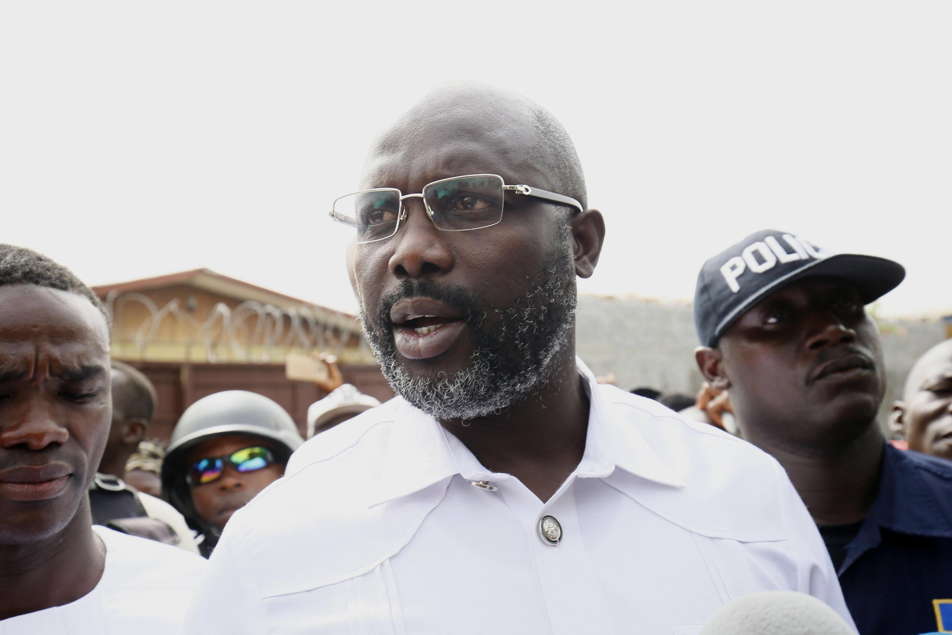 Weah ha vinto le elezioni in Liberia