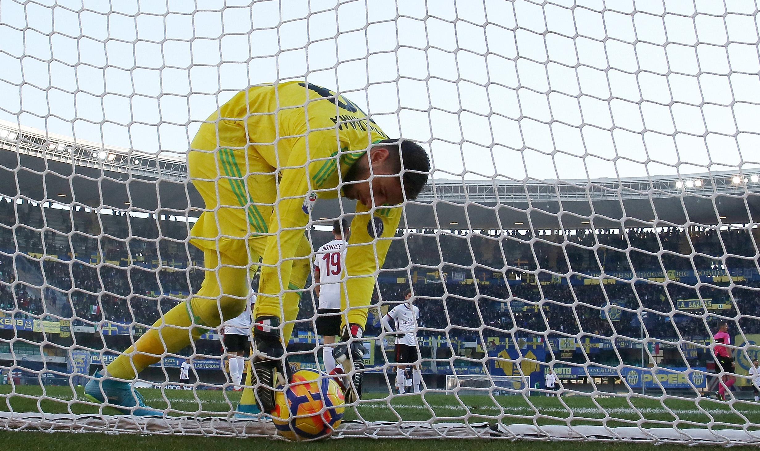 Serie A: Verona-Milan 3-0