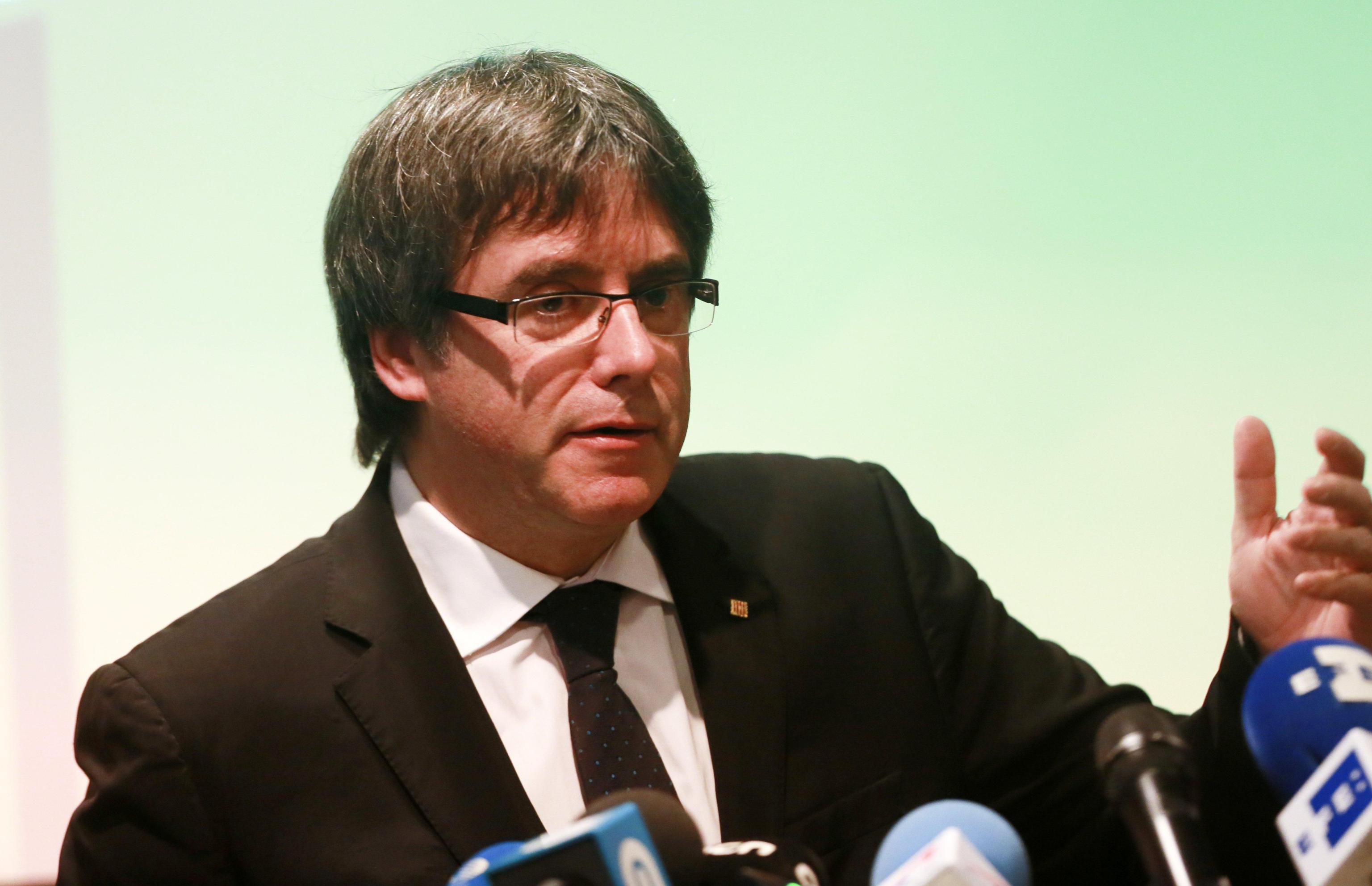 Puigdemont forse in Belgio fino gennaio