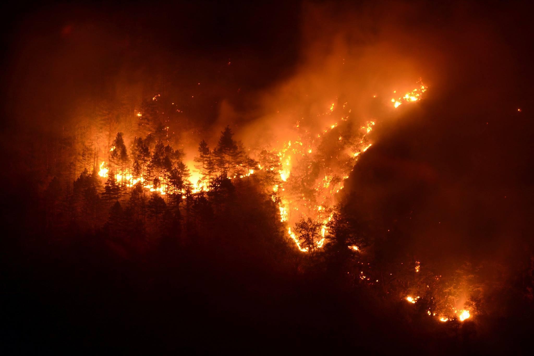 Incendi, Piemonte revoca pericolosità
